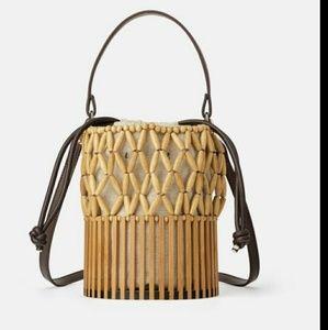 Zara Mini Basket Handbag